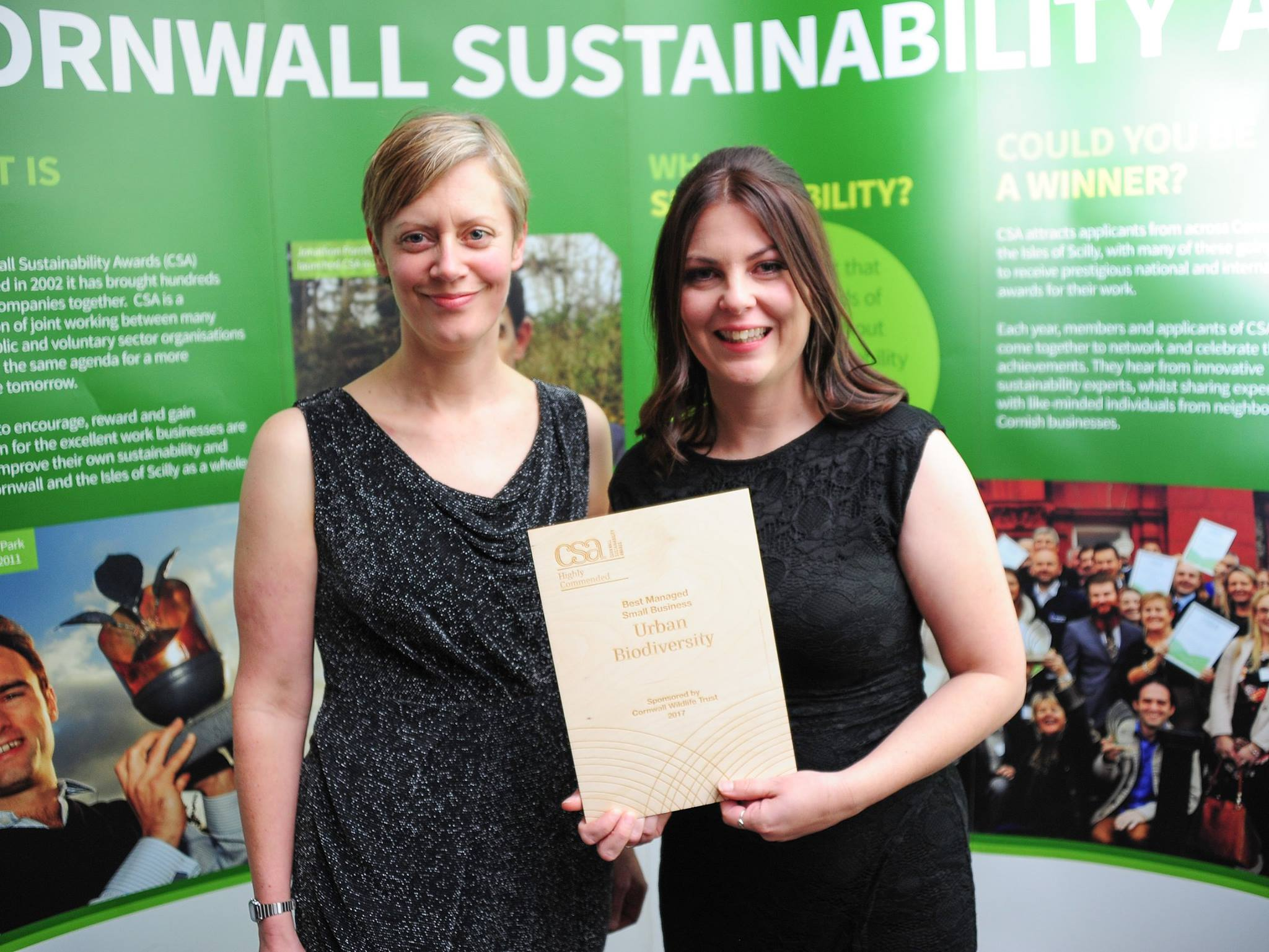 Newquay Community Orchard has won the Best Contribution to Sustainability