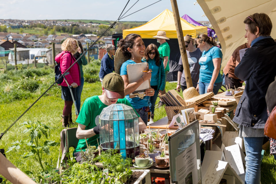 Newquay Community Orchard Spring Fayre