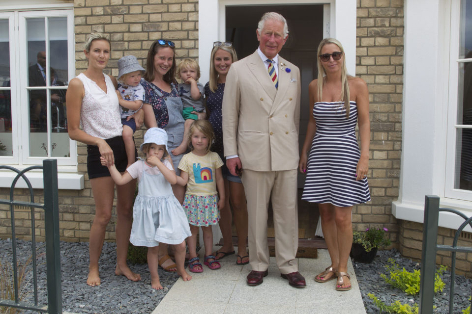 HRH The Duke of Cornwall visits Nansledan