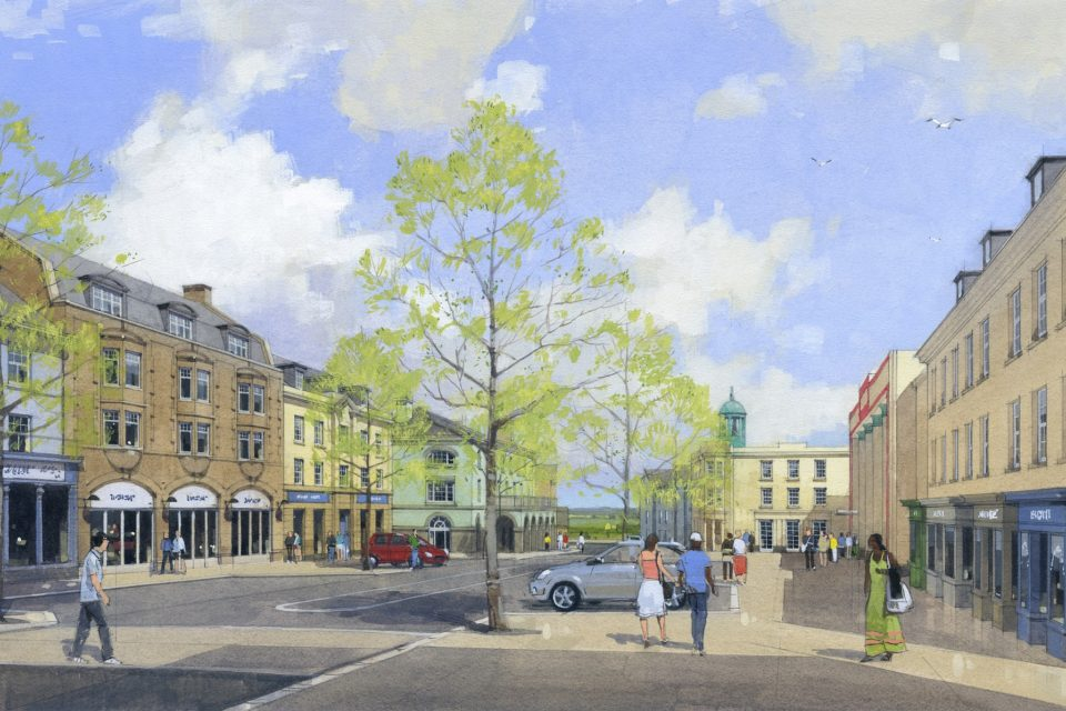 Nansledan's new High Street designs unveiled