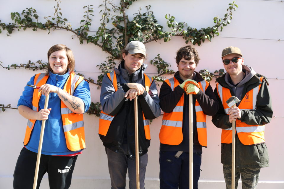 Community orchard trainees complete first course